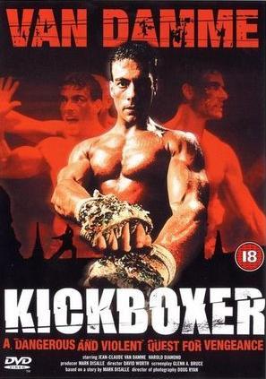 Cartel de la pelicula Kickboxer