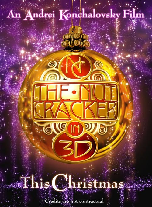 Pelicula The Nutcracker in 3D