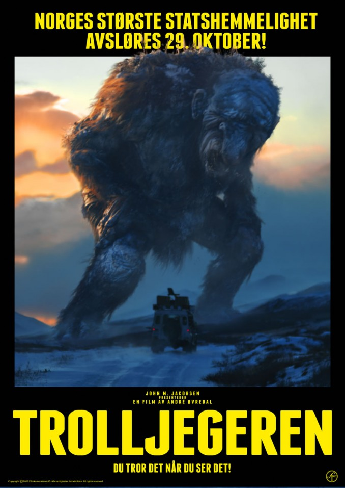 Pelicula Troll Hunter