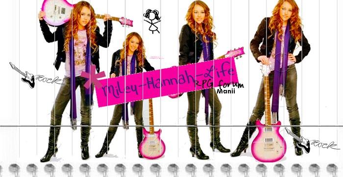 Miley/Hannah Life Index du Forum