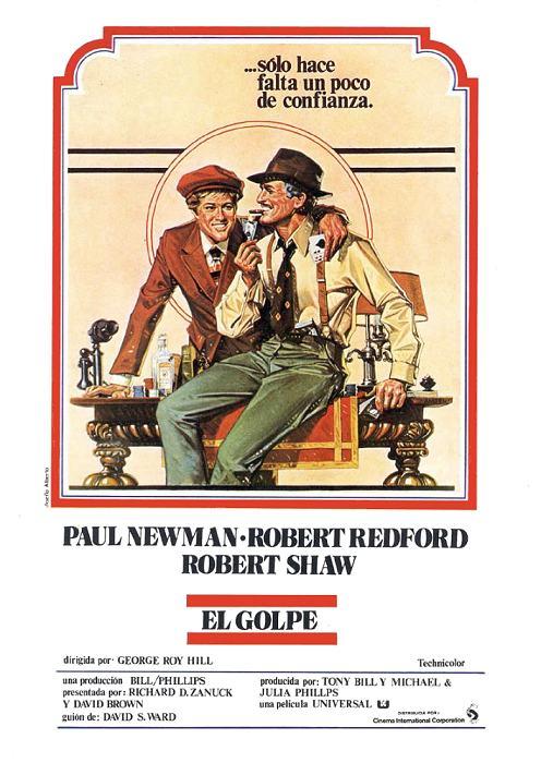 Poster de El golpe
